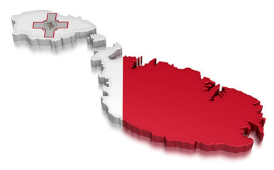 Malta (clipping path included)