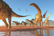 Argentinosaurus Herd