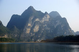 Yu Long river landscape in Yangshuo, Guilin, Guanxi province, Ch