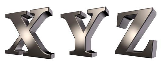 metallbuchstaben