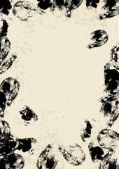thumbprint border