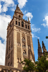 Giralda Bell Tower Seville Cathedral Spain