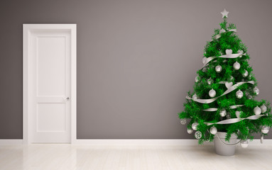 Christmas Empty interior