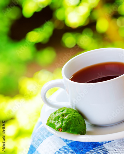 Earl Grey tea with bergamot