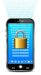 Phone Security Concept - Lock Data