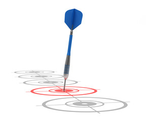 Successfully hitting target