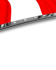 Designelement Flagge Peru