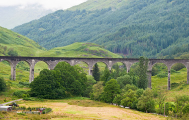 The viaduct at glenfinnan