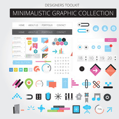 Minimalistic graphic collection