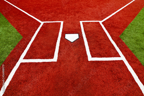 Baseball Home Plate Batter Boxes
