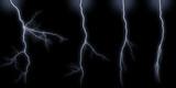 Lightning bolts types