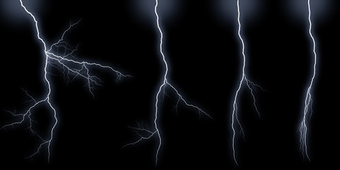 Lightning bolts types