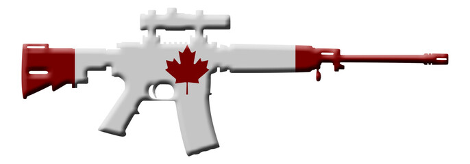 Rifle weapon in Canada