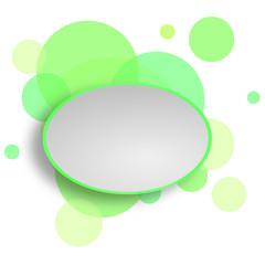 Sprechblase weisses Papier Karton Text schreiben Komunikation