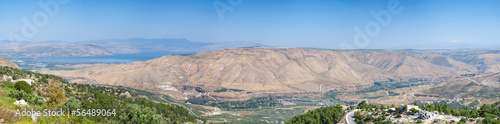 Sea of Galilee and Golan Heights, Israel