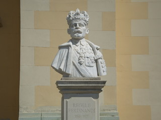 King Ferdinand I of Romania, bust, Alba Iulia