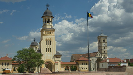 Alba Iulia, Transylvania, touristic destination