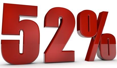 percent,52