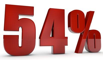 percent,54