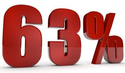 percent,63
