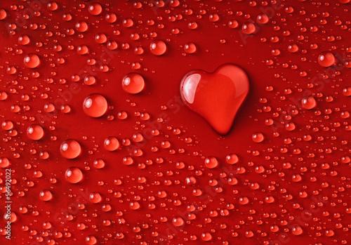 Herz aus Wassertropfen © dkimages
