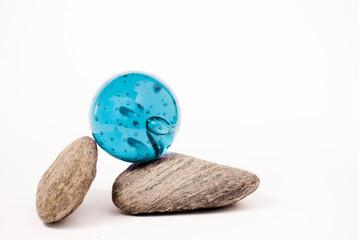 equilíbrio azul