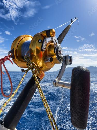 Aluminium Vissen fishing reel and pole