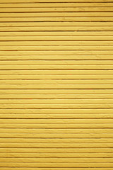 Yellow wood wall
