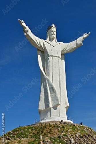 Christus König Statue in Świebodzin | Polen - 56497849