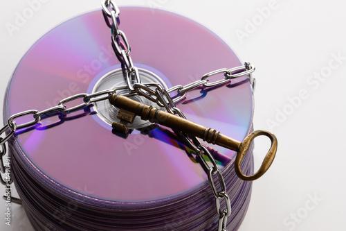 鍵のかかったディスク