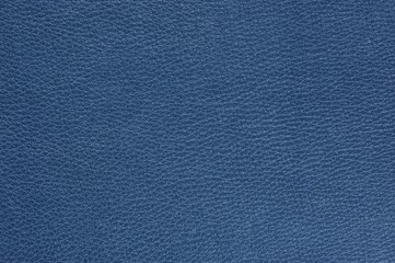 Blue Glossy Artificial Leather Background Texture