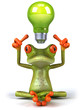 Leinwandbild Motiv Frog