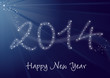 2014 Greeting card - Happy New Year
