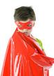 Junge als Superheld