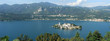 Постер, плакат: Overview at lake Orta with the island of San Giulio Italy