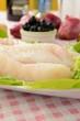 Filetto di pesce crudo