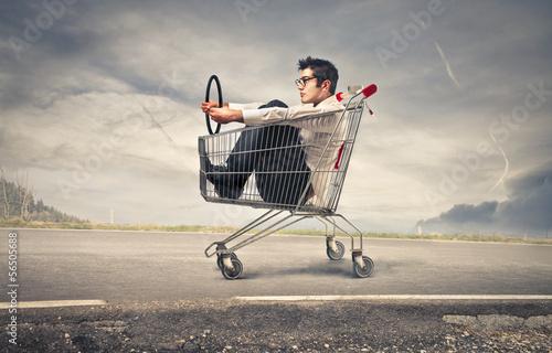 ride a cart - 56505688