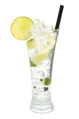 refreshing gin tonic