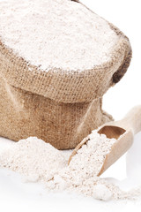 Flour background.