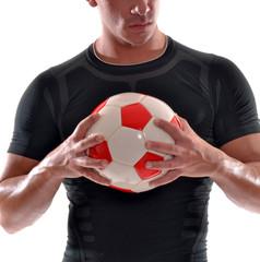 hombre atleta deportista ejercitando entrenando.