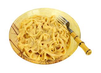 Fettuccine Alfredo Pasta Fork