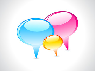 Glossy Chat Icon
