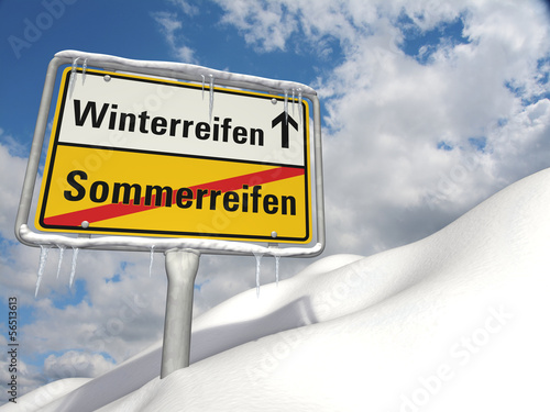 Reifenwechsel: Winterreifen statt Sommerreifen