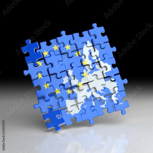 Europe Union Puzzle