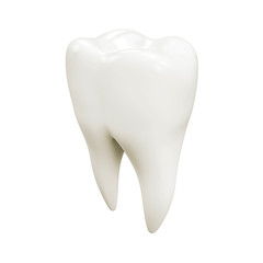 Isolated tooth