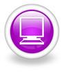 """Violet Icon """"Desktop Computer"""""""