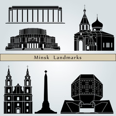 Minsk landmarks and monuments