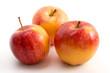 Drei Äpfel (Royal Gala)