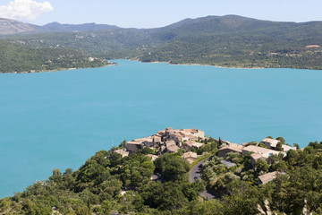 Lake Sainte Croix, Les Gorges du Verdon, Provence