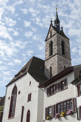 Basel, historische Altstadt, Peterskirche, Kirche, Schweiz